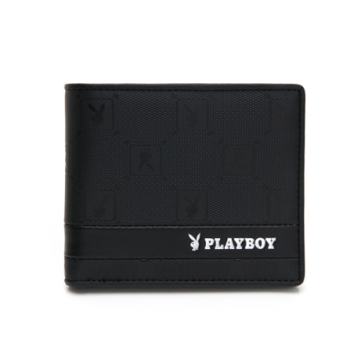 PLAYBOY- 基本短夾 黑暗騎士upgrade系列 -黑色