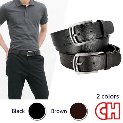 CH-BELT型男時尚品味帥氣中性休閒皮帶腰帶(多色)
