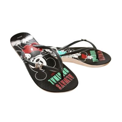 魔法Baby 女鞋 台灣製迪士尼小熊維尼授權正版夾腳拖鞋sd3108