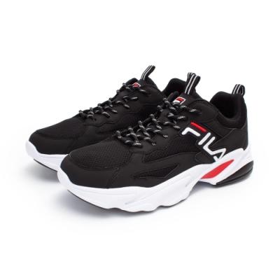 【FILA】BEATS TRACER 復古慢跑鞋 男鞋-黑(1-J526U-001)