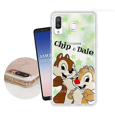 迪士尼正版 Samsung Galaxy A8 Star 繽紛空壓安全手機殼(奇...
