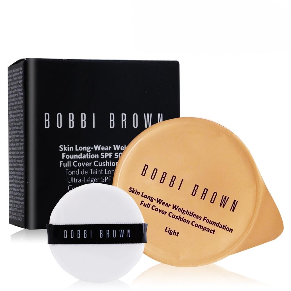(期效品)BOBBI BROWN 自然輕透膠囊氣墊粉底-無瑕版13g-期效202006