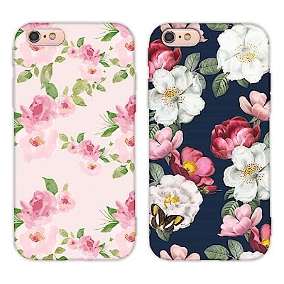 【TOYSELECT】iPhone SE2/7/8 水彩文藝設計手機殼