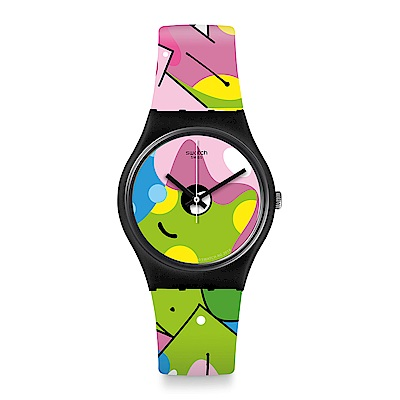 Swatch  Listen to me系列 IMAGE OF GRAFFITI塗鴉牆