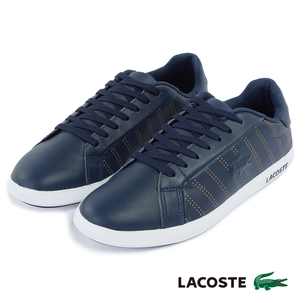LACOSTE 女用休閒鞋-深藍 product image 1