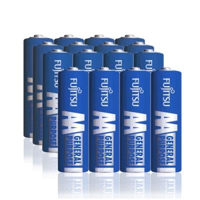 FUJITSU 日本富士通 藍版能量3號AA碳鋅電池(16顆入) R6 F-GP