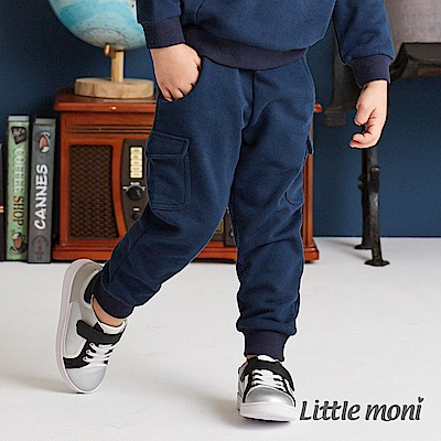 Little moni 口袋裝飾長褲(共2色)