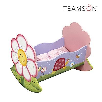 Teamson 魔法花園娃娃搖床