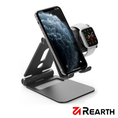 Rearth Ringke 高質感金屬手機/Apple Watch 支架