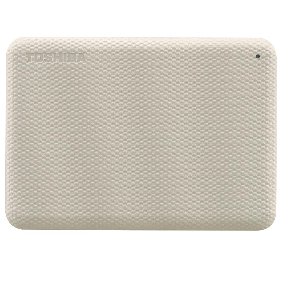 TOSHIBA 東芝 V10 Canvio Advance 先進碟 2TB 2.5吋外接式硬碟 (米白)