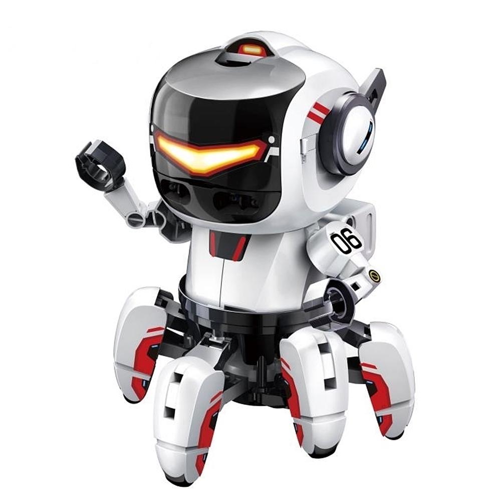 台灣製造Proskit寶工科學玩具AI智能二代寶比機器人GE-894
