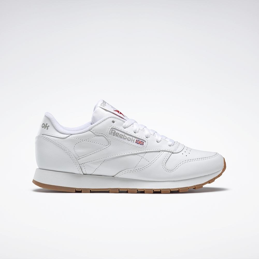 Reebok Leather 經典鞋 女 49803
