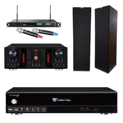 金嗓A5+FNSD A-450+SK-900V+ACT-589(伴唱機 4TB+卡拉OK套組)