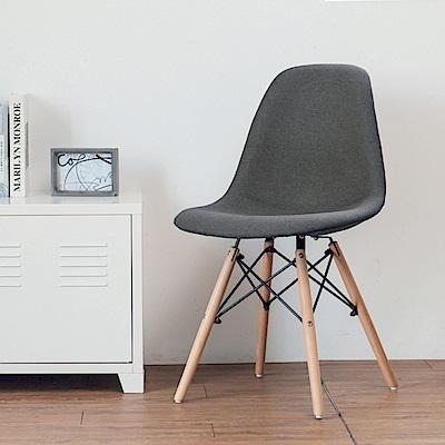 完美主義 布餐椅/復刻/楓木椅/電腦椅/化妝椅-2入組(2色)