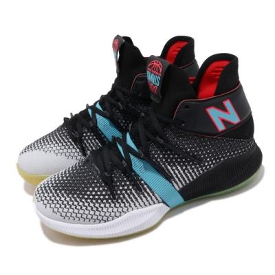 New Balance 籃球鞋 OMN1S Wide 寬楦 女鞋 紐巴倫 避震 包覆 運動 Kawhi 大童 黑 藍 GBOMN1SBW