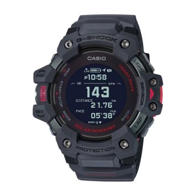 CASIO卡西歐 G-SHOCK 心率偵測 GPS定位 藍牙 太陽能電力 運動系列 GBD-H1000-8_55mm