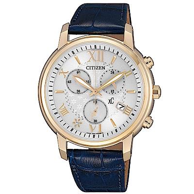 CITIZEN XC甜美迎人光動能時尚腕錶(FB1432-21A)
