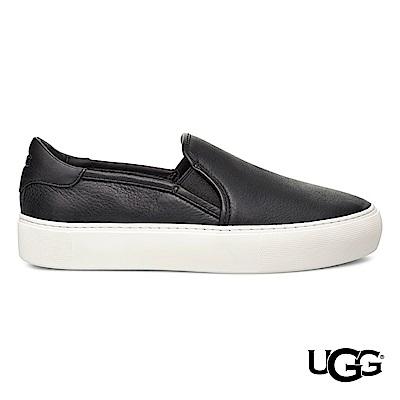 UGG休閒鞋 Jass牛皮懶人鞋 舒適休閒便鞋 共二色