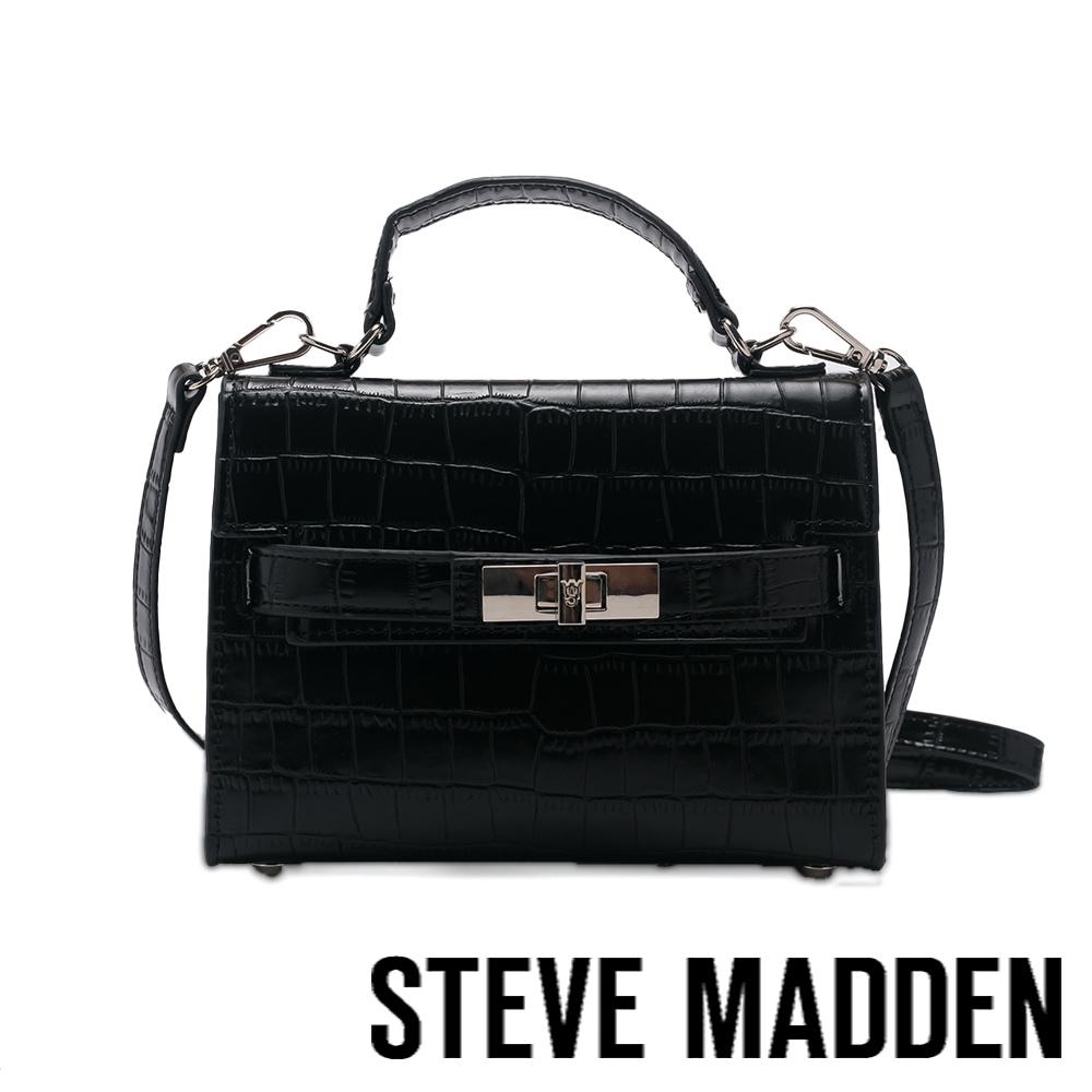 STEVE MADDEN-BJULIETA 壓紋協背信封包-黑色