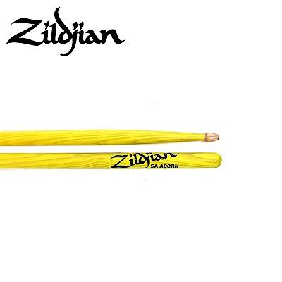 ZILDJIAN 5ACW DGY 螢光鼓棒 黃色款