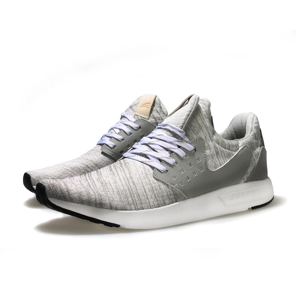 【ZEPRO】女子FLY-IN飛潮系列運動休閒鞋-銀白灰