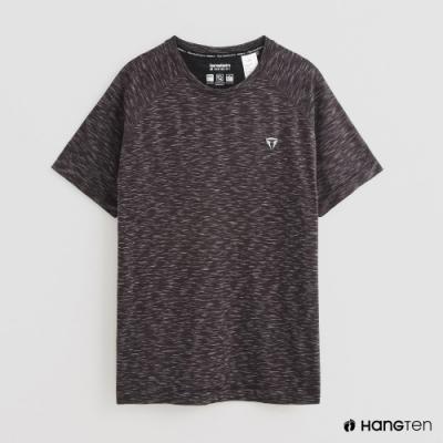 Hang Ten - ThermoContro-簡約U領短袖T恤 - 灰