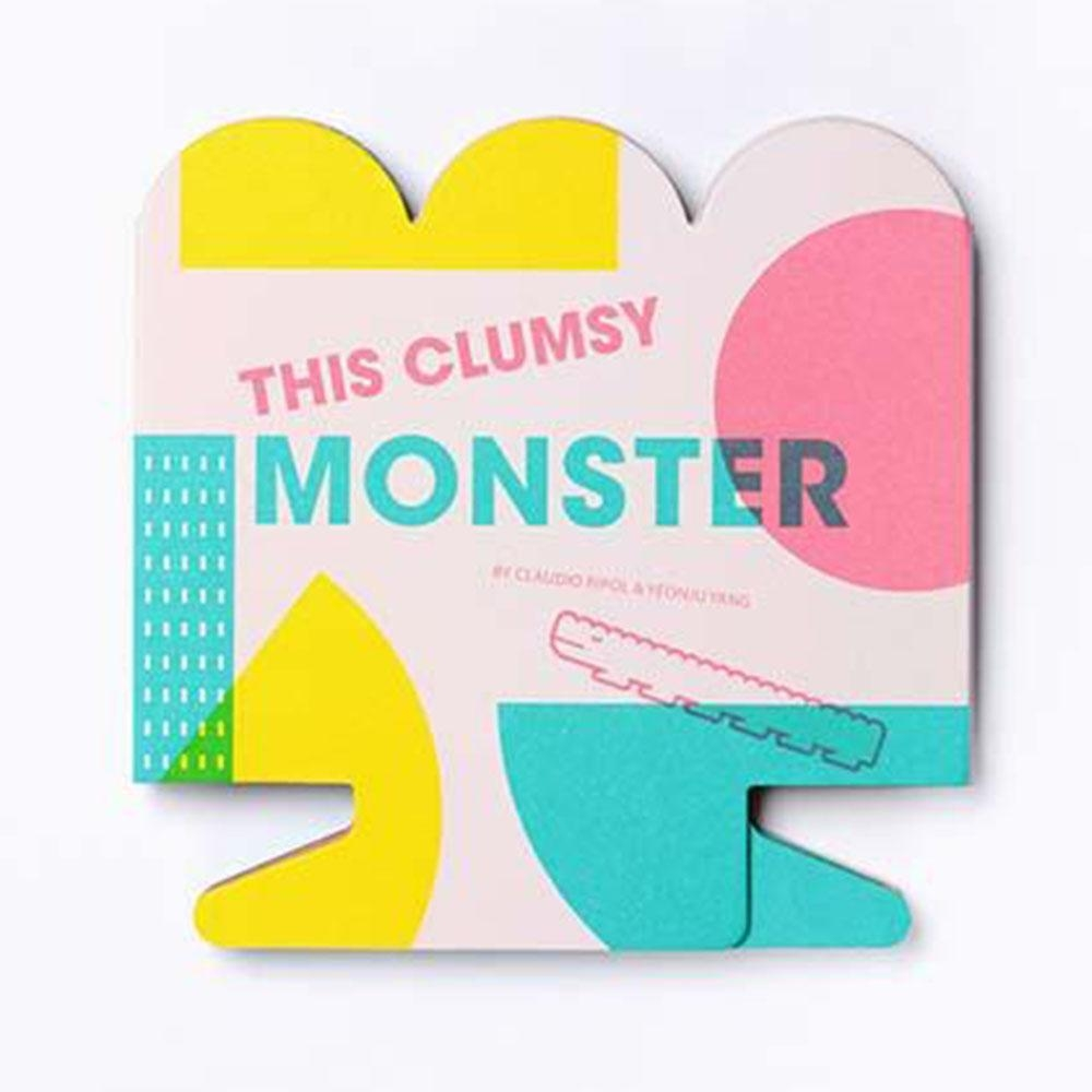 This Clumsy Monster 笨手笨腳的怪物造型硬頁書