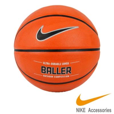 NIKE BALLER 7號籃球-籃球 橘黑