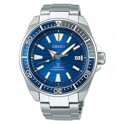 SEIKO PROSPEX愛海洋藍鯊潛水機械腕錶4R35-03G0B/SRPD23J1