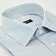 【金‧安德森】灰白條紋吸排窄版長袖襯衫fast product thumbnail 1