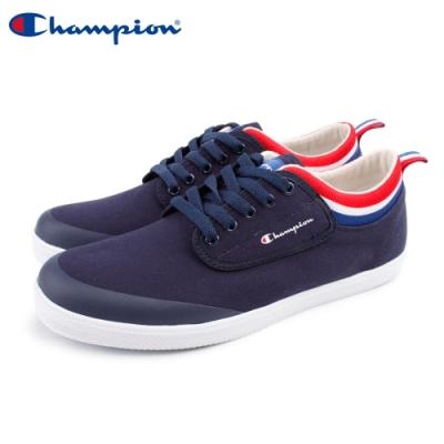 【Champion】CP Cozy LO 休閒帆布鞋 男鞋-深藍(MFLS-9005-60)