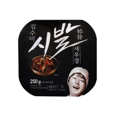 【韓味不二】金守美醬油蝦(250g)