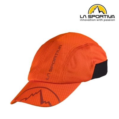 【義大利 LA SPORTIVA】Shade Cap 運動遮陽帽 橘色 #X56204204