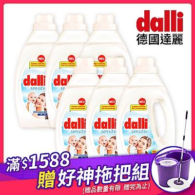 德國Dalli 抗敏洗衣精1.1L(6入/箱)