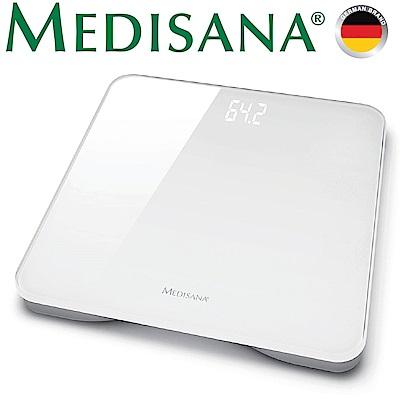 德國Medisana 極簡玻璃體重計(時尚白)
