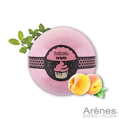 (即期品)Arenes粉嫩水蜜桃香氛沐浴球120g