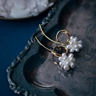 COR-DATE|珍珠棉花糖耳環