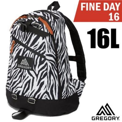 GREGORY 新款 FINE DAY 日用雙肩休閒後背包16L_斑馬紋