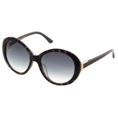 TOD'S 復古圓框 太陽眼鏡 (琥珀色)TO177D