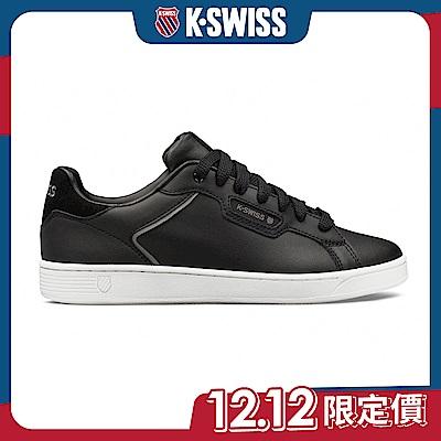 K-SWISS Clean Court II CMF時尚運動鞋-男-黑