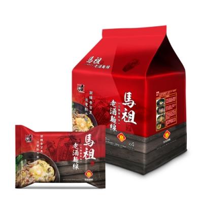 五木  馬祖老酒麵線袋裝(95gx4入)