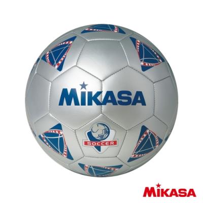 MIKASA SS41合成皮手縫足球 灰 #4