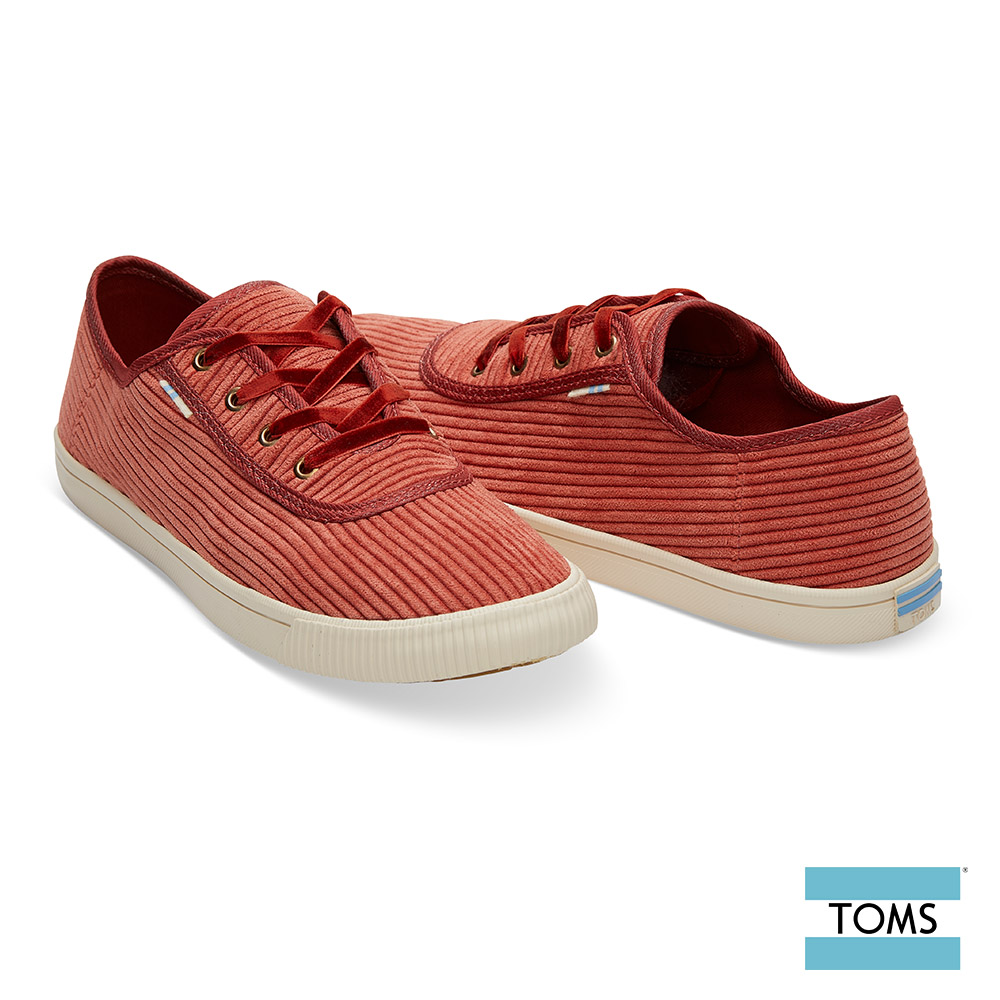 TOMS 復古燈心絨綁帶休閒鞋-女款-Topanga系列