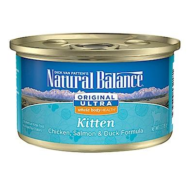 Natural Balance 低敏特級田園幼貓主食罐 3oz 12罐組