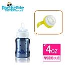 Pacific Baby 美國不鏽鋼保溫奶瓶(4oz+學習配件組)