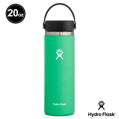 美國Hydro Flask 真空保冷/熱寬口鋼瓶591ml 藥草綠
