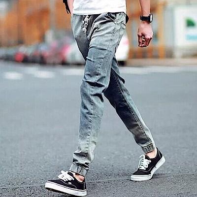 BuyGlasses 抽繩磨破牛仔哈倫褲
