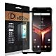 全膠貼合 華碩 ASUS ROG Phone II 2代 ZS660KL 電競手機 滿版疏水疏油9H鋼化頂級玻璃膜(黑) product thumbnail 1