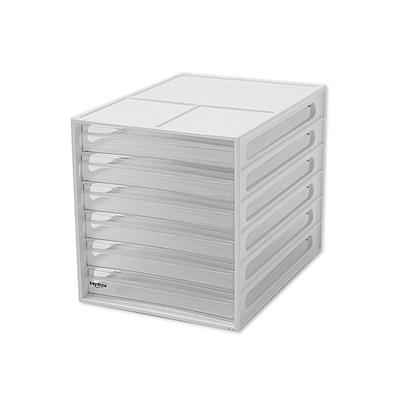 完美主義 桌上型六抽 資料櫃/文件櫃2入組 (2色)