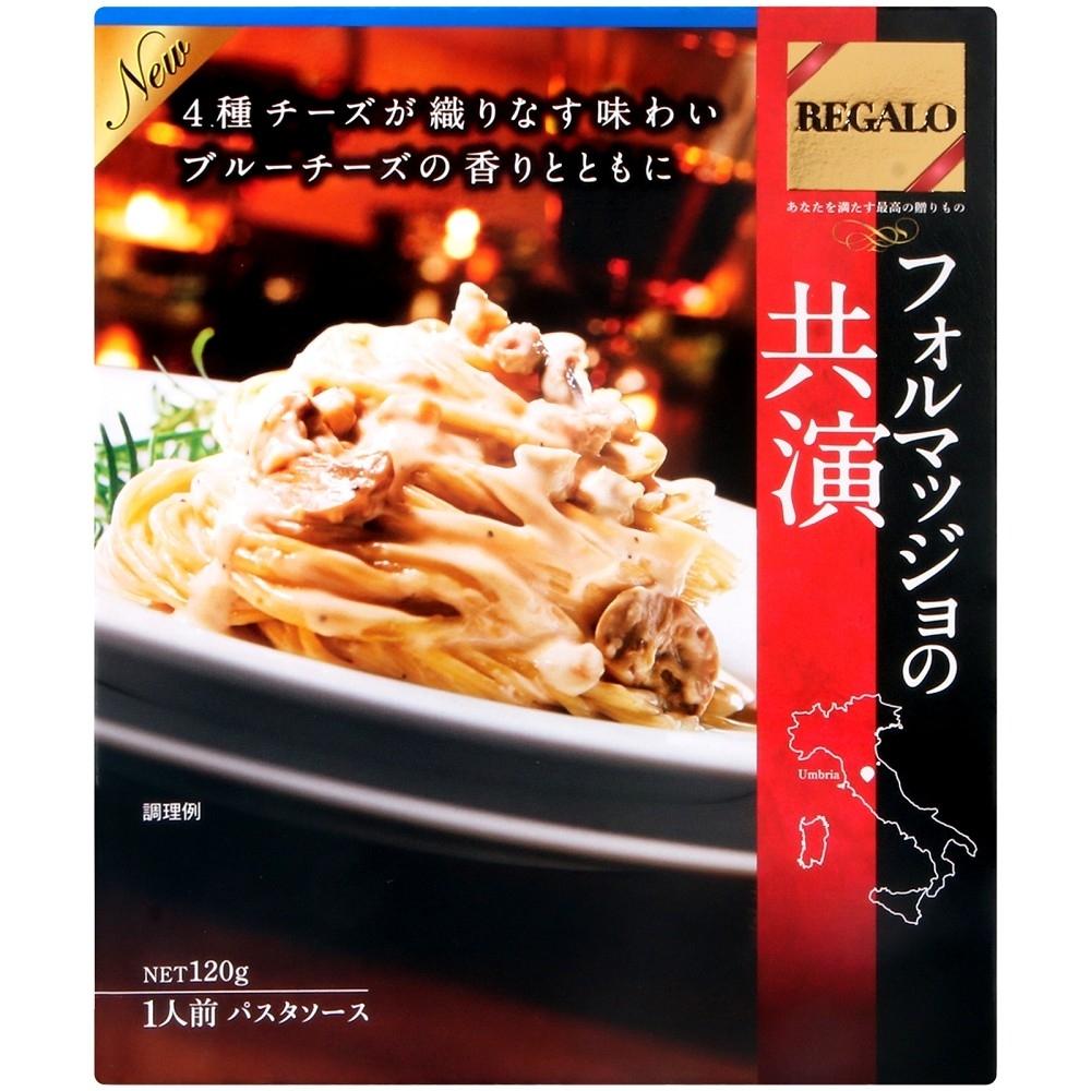日本製粉 共演-奶油起士蘑菇義麵醬(120g)